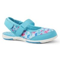 Water Mary Janes, Kids, Size: 3 Girl, Blue, Rubber, by Lands' End