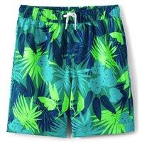 Swim Shorts, Kids, Size: 2-3 yrs Kids, Blue, Polyester, by Lands' End