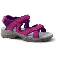 Everyday Sandals, Women, Size: 7 Regular, Pink, Polyester, by Lands' End