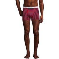 Jersey Trunks, 2-pack, Men, Size: S Regular, Blue, Cotton-blend, by Lands' End.
