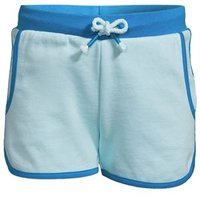 French Terry Short, Kids, Size: 14 yrs Kids, Blue, Cotton-blend, by Lands' End
