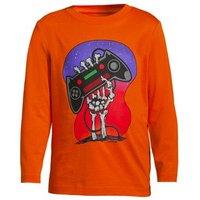 Graphic Tee, Kids, Size: 2-3 yrs Kids, Orange, Cotton, by Lands' End