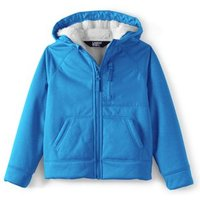 Active Full Zip Hoodie, Kids, Size: 4-5 yrs Kids, Blue, Polyester, by Lands' End
