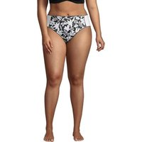 Chlorine Resistant Mid Waist Bikini Bottoms, Women, Size: 26 Plus, Poly-blend, by Lands' End