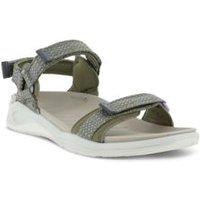 ECCO X-Trinsic Trekker Sandals, Women, Size: 5-5.5 Regular, Green, Synthetic-blend, by Lands' End