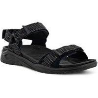 ECCO X-Trinsic Trekker Sandals, Men, Size: 11.5 Regular, Black, Synthetic-blend, by Lands' End