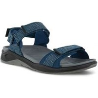 ECCO X-Trinsic Trekker Sandals, Men, Size: 9.5/10 Regular, Blue, Synthetic-blend, by Lands' End