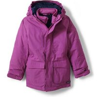 Squall 3-in-1 Waterproof Coat, Kids, Size: 14 yrs Kids, Purple, Polyester, by Lands' End