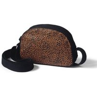 Dome Crossbody Canvas Bag, Women, Brown, , by Lands' End