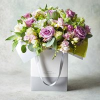 Rose & Freesia Gift Bag Pastel