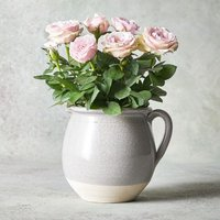 White Rose Jug White