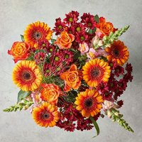Medium Russet Tapestry Bouquet Yellow or orange