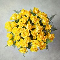 Foundation Yellow Roses Bouquet Yellow or orange
