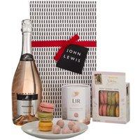 John Lewis & Partners Rosé & Macarons Gift Box