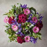Large Cottage Garden Bouquet Purple, lilac or blue
