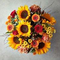 Harvest Festival Bouquet Yellow or orange