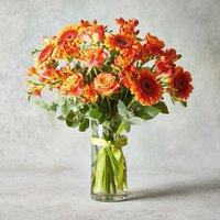 Autumn Fireside Vase Yellow or orange