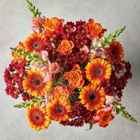 Large Russet Tapestry Bouquet Yellow or orange