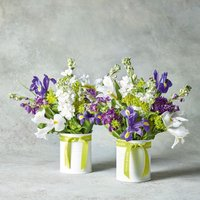 Iris & Snapdragon Summer Duo Purple, lilac or blue