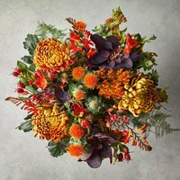 Magnificent Autumn Bouquet Yellow or orange