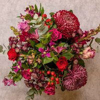 Autumn Glow Bouquet Vibrant