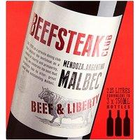 The Beefsteak Club Malbec Wine Box 2.25l
