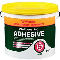 Wickes Ready Mixed Wallpaper Paste - 5kg.
