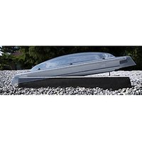 VELUX Opaque Polycarbonate Flat Roof Dome - 900 x 1200mm