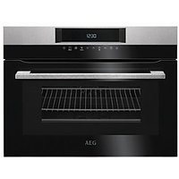 AEG CombiQuick 1000W Microwave & Compact Oven KMK761000M