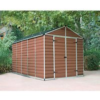 Palram Skylight 8 x 12ft Plastic Apex Shed
