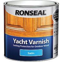 Ronseal Yacht Varnish - Clear Satin 2.5L
