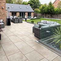 Marshalls Symphony Smooth Paving Slab - Senna 595 x 595 x 20