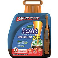 Resolva Ready to Use 24 Hour Weed Killer Power Pump - 5L.