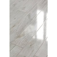 Wickes Chenai Light Grey High Gloss Laminate Flooring Sample
