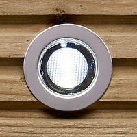 Drako Daylight White 30mm kit Polished stainless steel   clear and frosted plastic