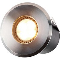 ELLUMIÈRE Outdoor Low Voltage LED Deck Light Stainless Steel Large 2W