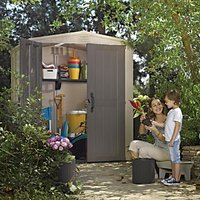 Keter Plastic Factor Shed - 6 x 6 ft