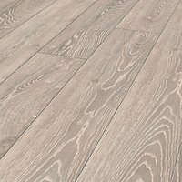 Wickes Shimla Grey Oak Laminate Flooring - 2.22m2 Pack