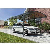 Palram 5010 x 2910mm Vitoria Polycarbonate Freestanding Carport - Grey