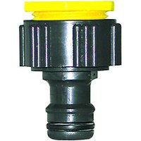 Wickes Universal Garden Hose Pipe Tap - Connector