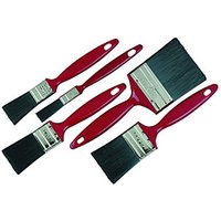 Wickes Trade Mixed Size Paint Brushes - Pack of 5.
