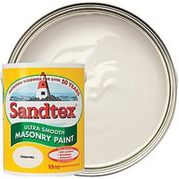 Sandtex Ultra Smooth Masonry Paint - Chalk Hill 5L