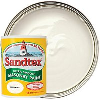 Sandtex Ultra Smooth Masonry Paint - Cotton Belt 5L