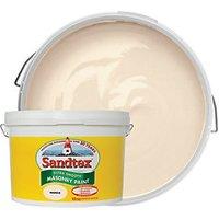 Sandtex Ultra Smooth Masonry Paint - Magnolia 10L