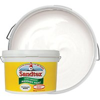 Sandtex Ultra Smooth Masonry Paint - Pure Brilliant White 10