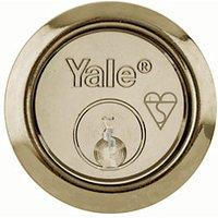 Yale P-X52KP-PB British Standard Rim Cylinder Lock - Brass