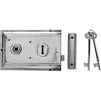 Yale P-334-CH Rim Door Lock - Chrome