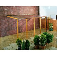 Wickes PVCu Clear Corrugated Sheet 660 x 1800mm