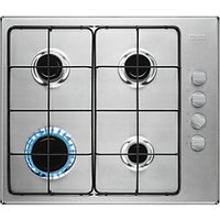 Zanussi 58cm Gas Hob Stainless Steel ZGH62414XS.
