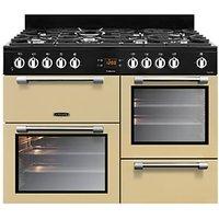 Leisure Cookmaster 110cm Dual Fuel Range Cooker - Cream